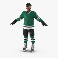 3d hockey player generic