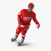 hockey player detroit red max