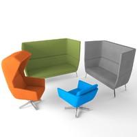 chair positiva 3d model