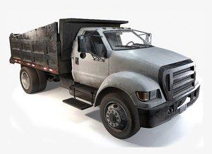 dump truck 3d max