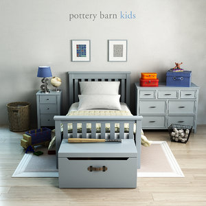 pottery barn elliott bed 3ds