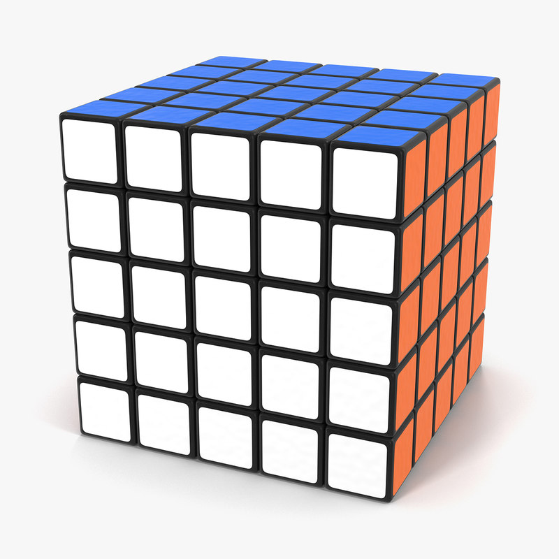 3d model rubiks professional 5x5 cube. Black Bedroom Furniture Sets. Home Design Ideas