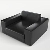armchair 5 3d model