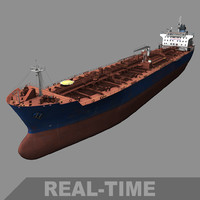 Large Oil Tanker (Real-time)