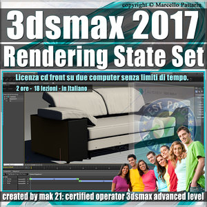 003 3ds max 2017 Rendering State Set vol. 3 CD Front