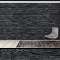 3d model of seamless stone wall 3