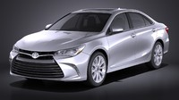3d model toyota camry le
