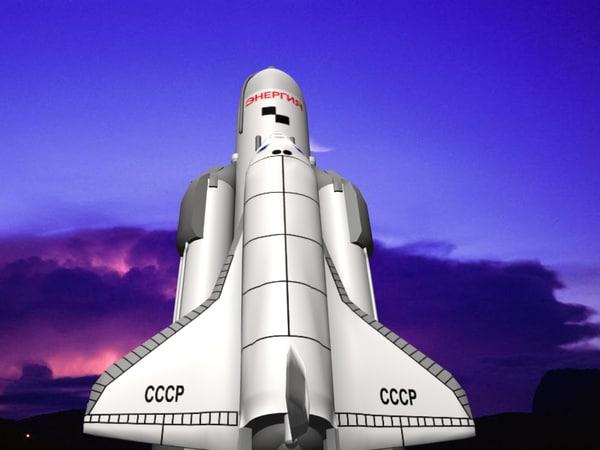 space buran 3d max