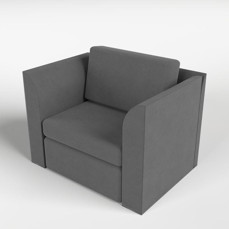 armchair 7 3d model
