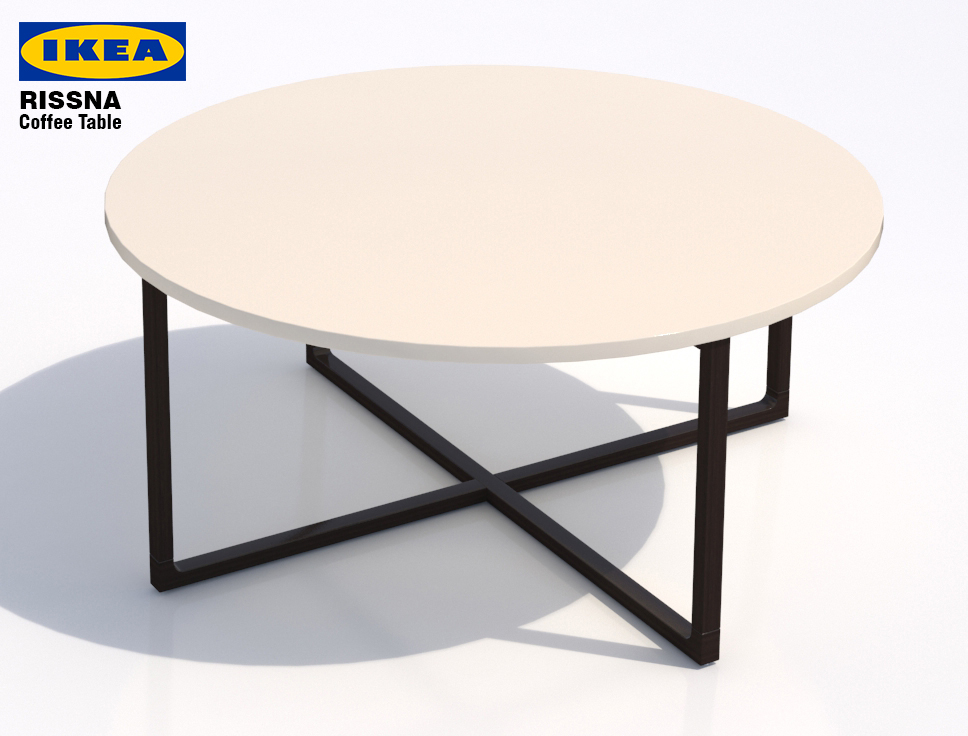 Ikea Rissna Coffee Table Round
