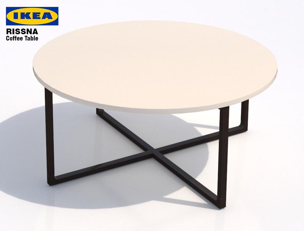 ikea rissna coffee table- max