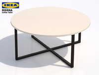 ikea rissna coffee table- max