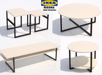 ikea rissna table 3d max