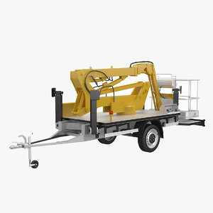 3d cherry picker trailer