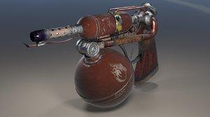 gasbag flamethrower max