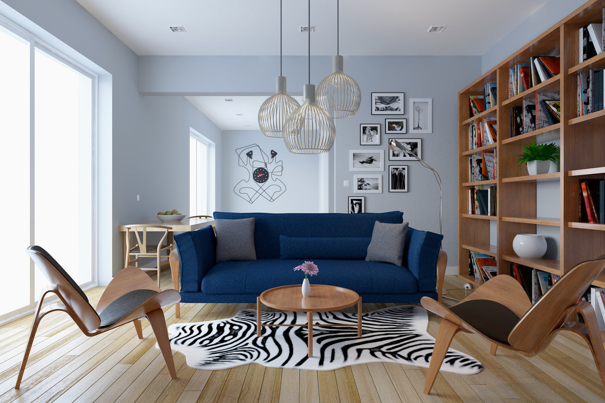 3d room living
