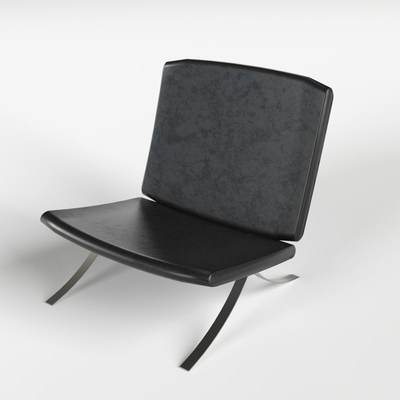 armchair 8 3d model
