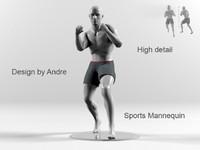 Sports Mannequin Boxer
