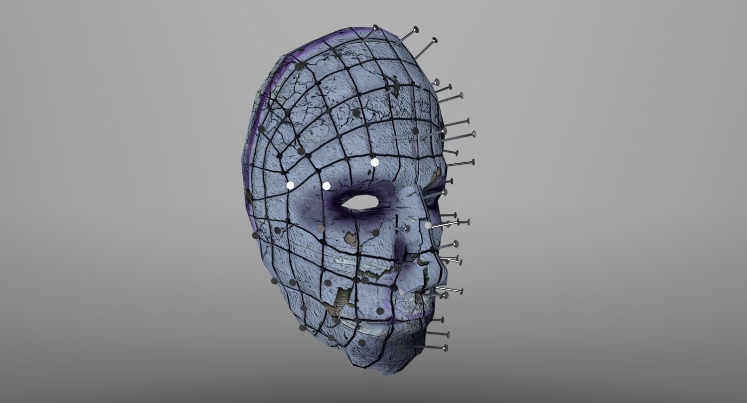 faces mask 3d model