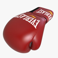3d boxing glove model