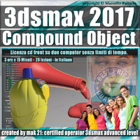 004 3ds max 2017 Compound Object vol. 4 CD Front