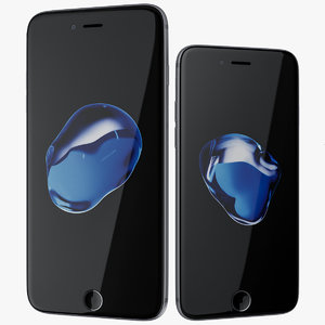 apple iphone 7 silver 3d max