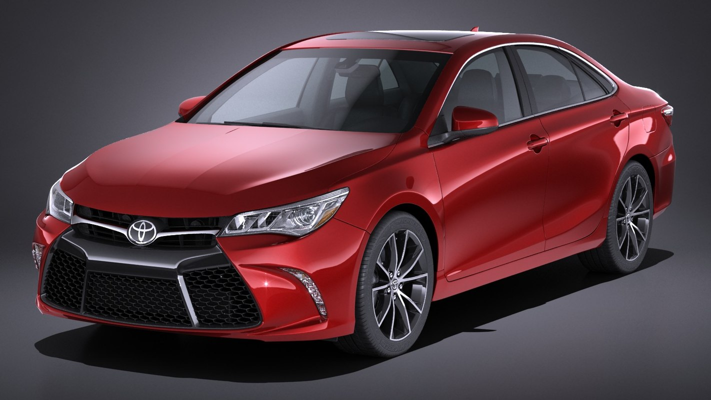 3d toyota camry xse