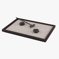 table zen garden 3d max