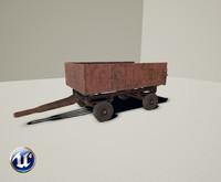 ready tractor trailer 3d model