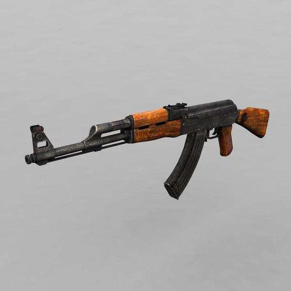 3d ak-47