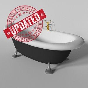 free bath tub 3d model
