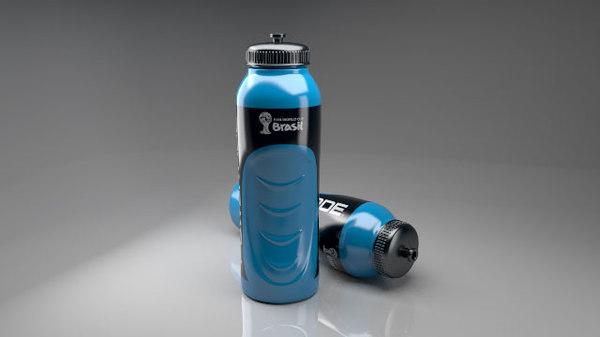 sport water bottle 3d model