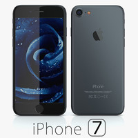 3d model apple iphone 7