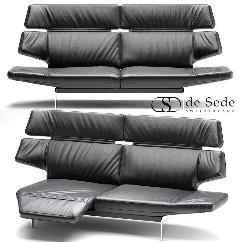 3d model sofa sede ds-480