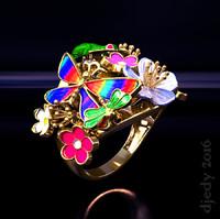 rings nature 3d model