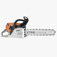 saw chain chainsaw 3d max