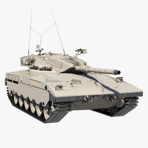 3d model merkava mark