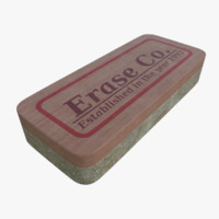 Chalkboard eraser three