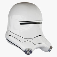 3d model flametrooper helmet