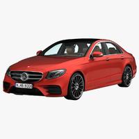 2017 mercedes-benz e-class amg 3d max