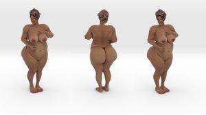 woman beautiful 3ds