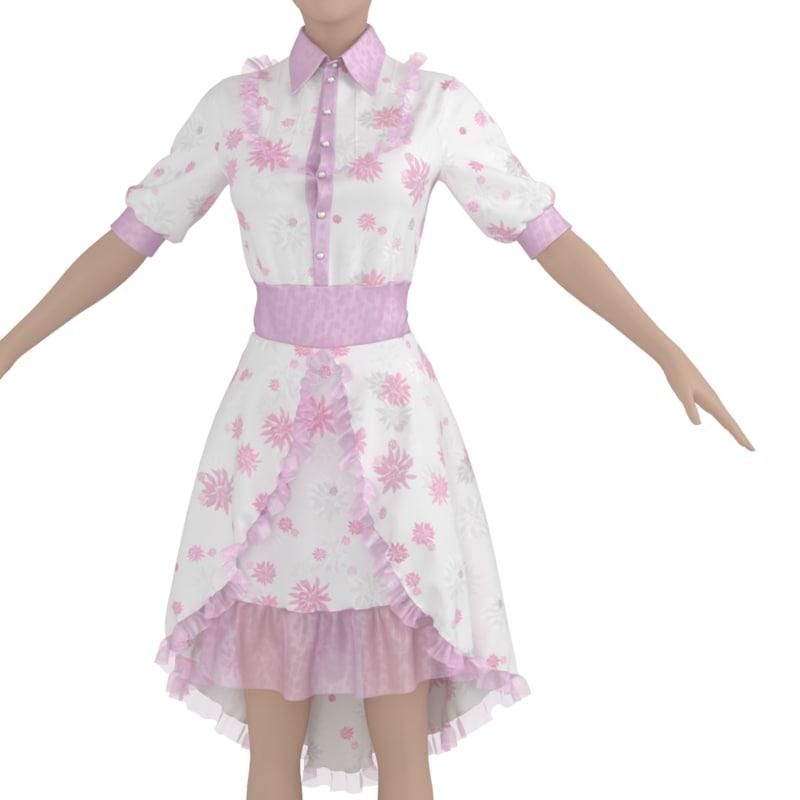 dress body 3d model