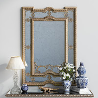 classic mirror provasi 1107 3d model