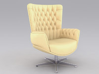 office chair 2 3d c4d