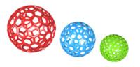 spheres holes 3d max