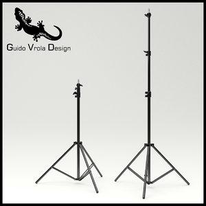3d studio stand model