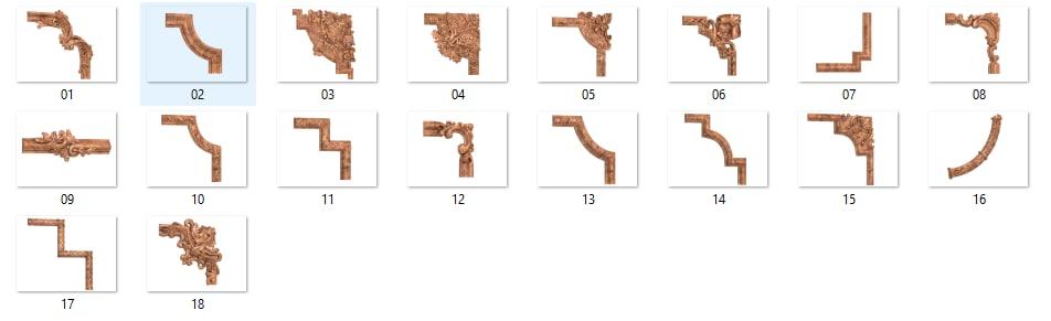 elements 3d model