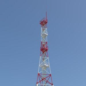 tower antenna 3d model