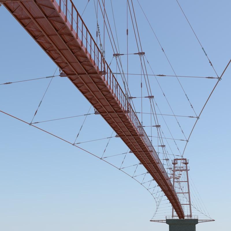 vant bridge 3d model