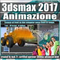 005 3ds max 2017 Animazione Vol 5.0 Cd Front
